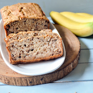No Sugar Added Banana Bread.