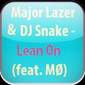 Major Lazer Lean On Lyrics 1.0