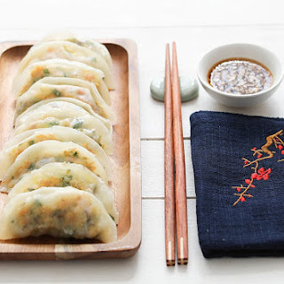 Chinese Vegetable Dumplings with Tofu.