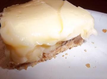 Banana Cheesecake With Cookie Crumb Crust Recipe