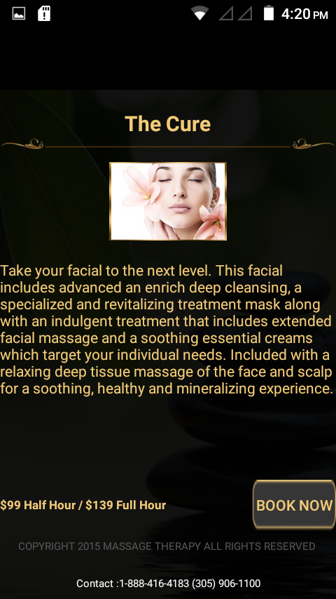 Eminence Massage- screenshot