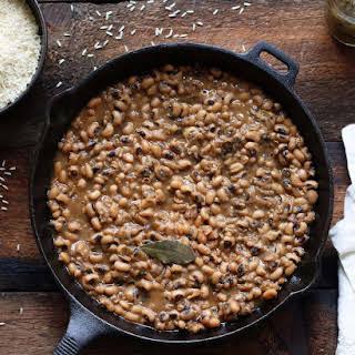 Vegetarian Black Eyed Peas.