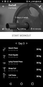 Barbell Home Workout 1.23 (Pro) (Mod) (Proper)