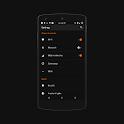 Black MTRL - Dark Orange CM13 APK Cracked Download