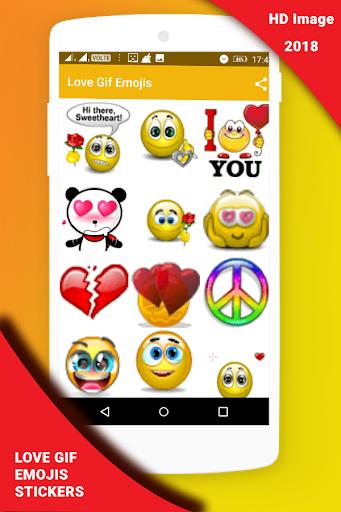 Love Gif Emoji Stickers 1.0.3 screenshots 7