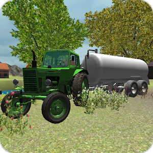 Classic Tractor 3D: Milk for PC and MAC