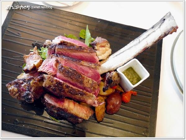 GMT義法餐廳.餐卷二訪品戰斧