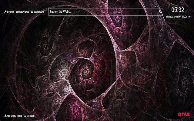 Purple Wallpaper HD New Tab Theme