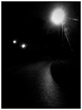 Photo: This is Finland at the moment. It's dark when I go to work and it's dark when I get home. Not very uplifting.  #iphoneography #darkness #streetlight