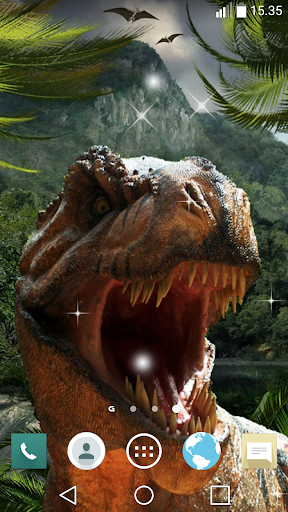 Download Dinosaur Live Wallpaper Android Apps APK
