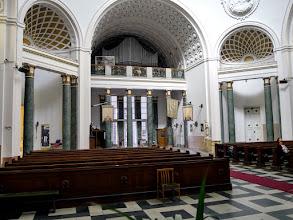 Photo: A kóruserkély és az ide tervezett (Gergely Ferenc) orgona a főbejárat felett.