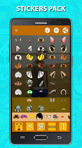Snaphoto stickers & filters screenshot 2
