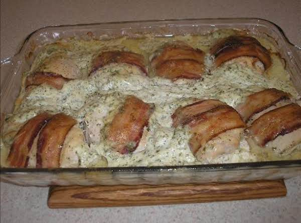 Bacon Wrapped Cream Cheese Chicken Breast
