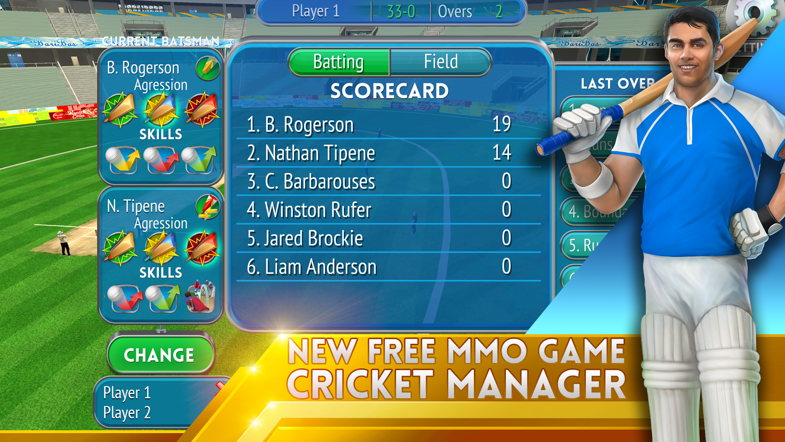 Cricket Manager- screenshot