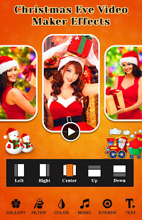 Christmas Eve Video Maker Effects for PC-Windows 7,8,10 and Mac apk screenshot 1