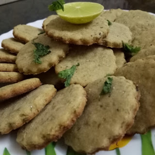 Lemon Basil Shortbread Cookies.
