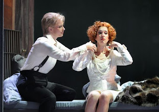 Photo: Wiener Staatsoper: LA CLEMENZA DI TITO - Inszenierung Jürgen Flimm. Premiere 17.5.2012. Elina Garanca, Juliane Banse. Foto: Barbara Zeininger