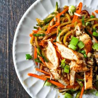 Asian Veggie Noodle Salad