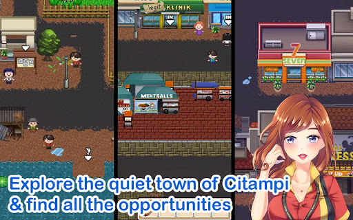 Citampi Stories: Love and Life Sim RPG apk mod screenshots 1