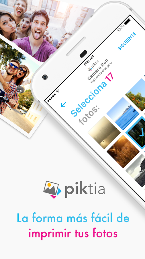 Piktia - Imprime tus fotos- screenshot