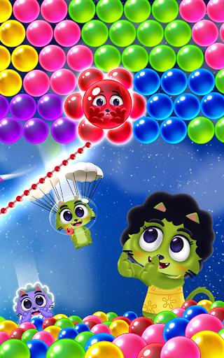 Space Cats Pop - Kitty Bubble Pop Games apktram screenshots 19