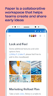Dropbox Paper - náhled