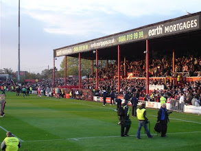 Photo: 04/11/06 - v Leyton Orient (FL1) 0-0 at Belle Vue - contributed by Stephen Harris