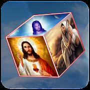 Jesus 3D Cube Live Wallpaper
