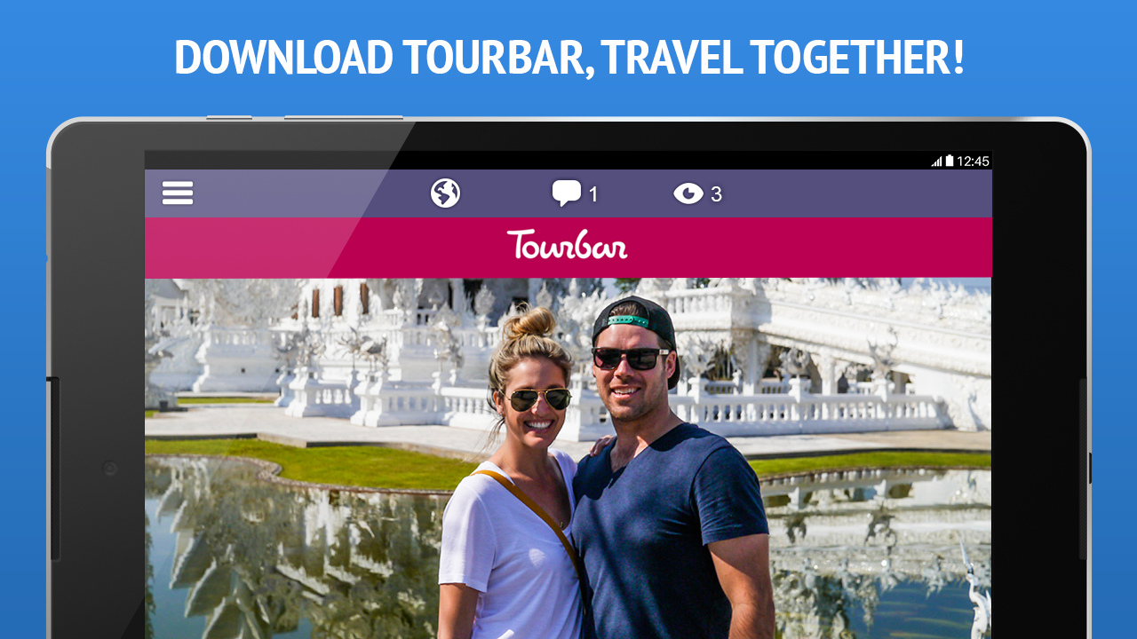 TourBar - Chat, Meet & Travel- screenshot