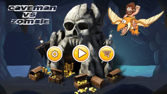 Caveman vs Zombie - náhled