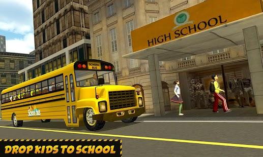 NY City School Bus 2017 - náhled