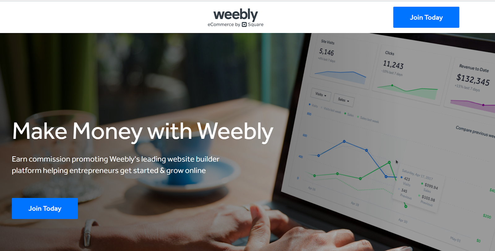 Weebly passive affiliate income program