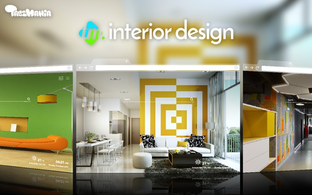 HD Interior Design Wallpapers New Tab