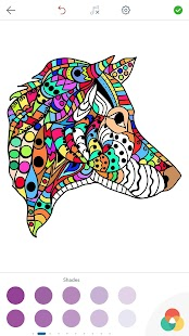 Dog Coloring Pages For Adults Screenshot Thumbnail