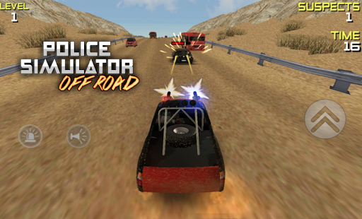 POLICE Offroad Simulator HD 1 screenshots 9