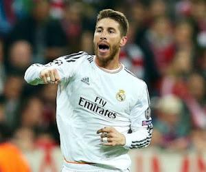 Sergio Ramos sur la touche cinq ou six semaines