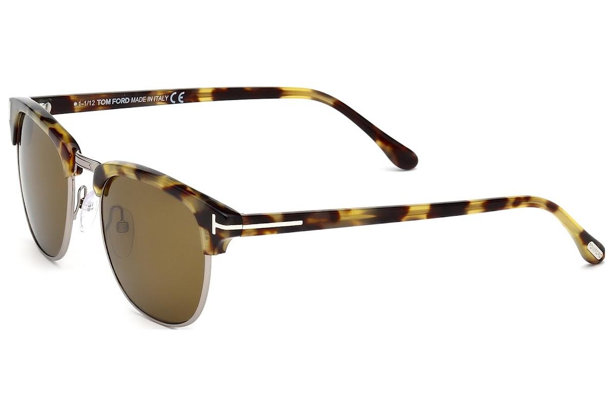7780a937b4 Sunglasses Tom Ford Henry FT0248 C51 55J (coloured havana   roviex)