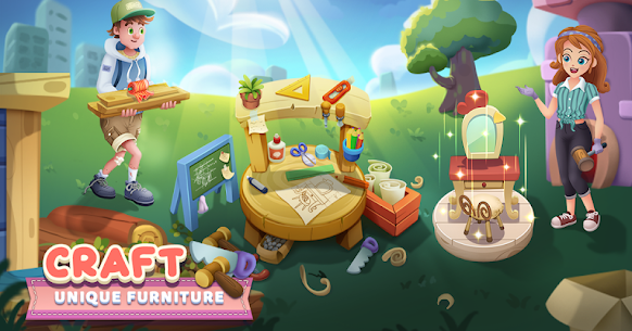 Craftory – Idle Factory & Home Design Mod APK 1.3.4 [No Ads] 3
