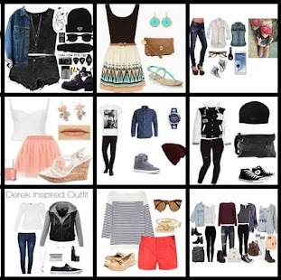 outfit style women - náhled