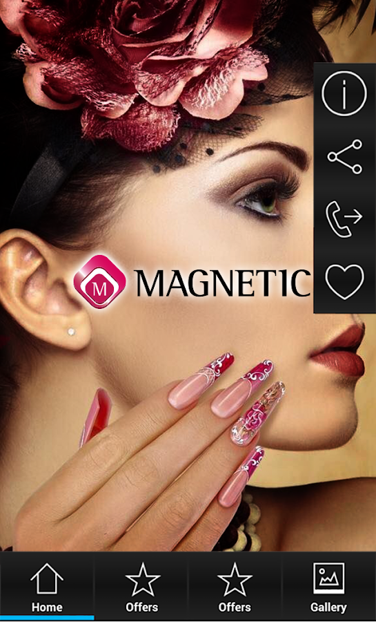 Magnetic nail design android apps on google play magnetic nail design screenshot prinsesfo Choice Image