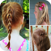 Kids Hairstyle VIDEOs Steps