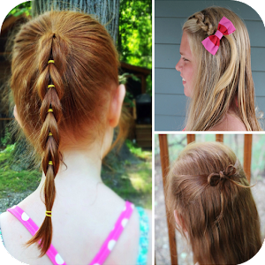 Pleasant Kids Hairstyle Videos Steps Android Apps On Google Play Short Hairstyles Gunalazisus