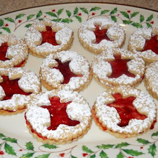 Linzer Sandwiches With Raspberry Jam