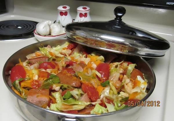 Comforting Cabbage-sausage Stew Recipe