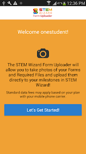 STEM Wizard Form Uploader - náhled