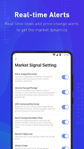 Coinness - Real-time crypto market index and news - screenshot