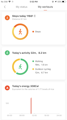Mi Fit screenshot 4