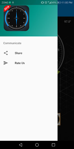 Compass Sensor for Android Digital Compass GPS 360 1.1.1 Screenshots 3
