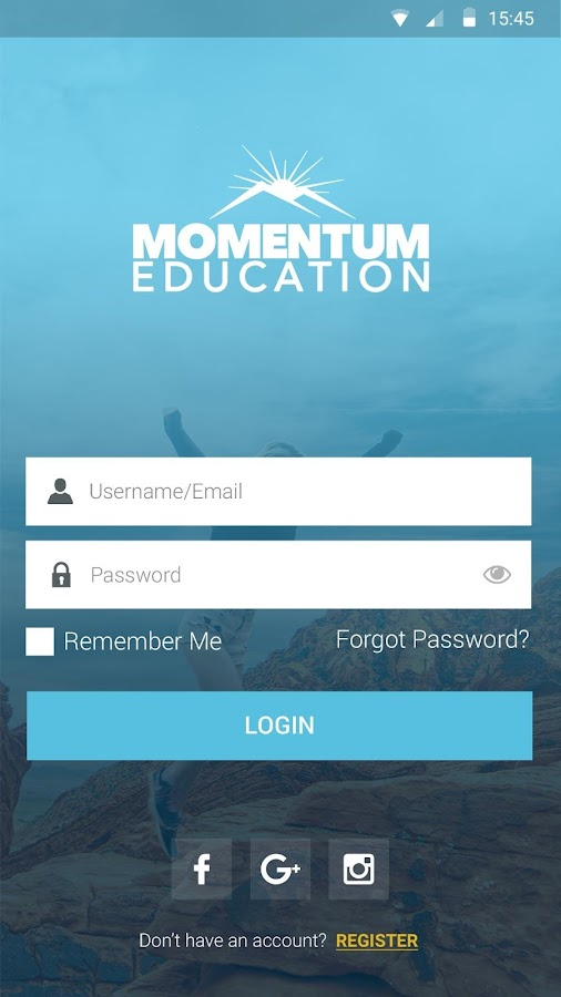 Momentum Education- screenshot