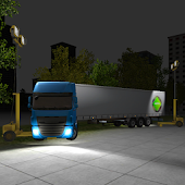 Night Truck Parking 3D